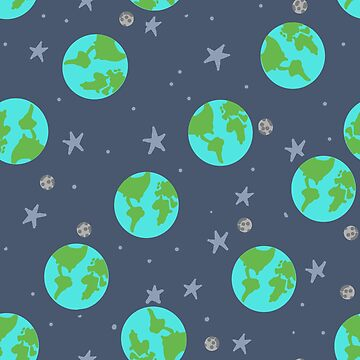 Planet Earth Pattern by HungryRam45