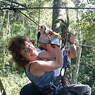 Alice on Zipline 2 by Wayne King