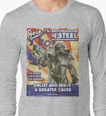 Brotherhood Propaganda Poster Long Sleeve T-Shirt