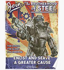 Bruderschaft Propaganda Poster Poster