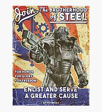 Brotherhood Propaganda Poster Photographic Print