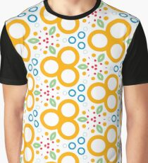 colorful circle rings creative seamless repeat pattern Graphic T-Shirt