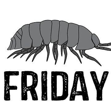 Isopod Friday by superflygeckos