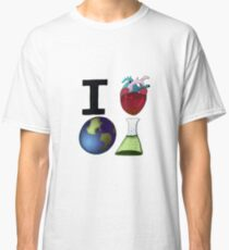 I Love Earth Science Classic T-Shirt