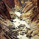 Oranje River, flowing through Augrabies National Park, RSA by Bev Pascoe