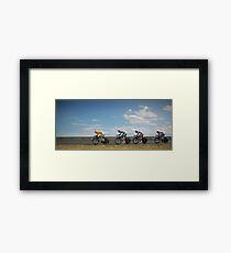 TEAM SAXO BANK Framed Print