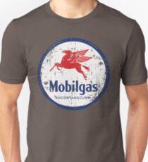 Mobil Oil Gas Vintage Mobiloil Mobilgas Sign Logo Pegasus Unisex T-Shirt