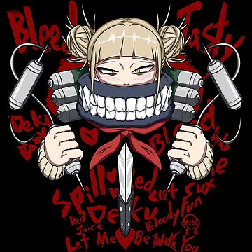 Himiko Toga Bloody Love by Fu-Man-Chu