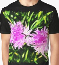 Chives Polygon Art Graphic T-Shirt