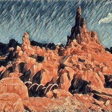 Big Mountain Range by Disnerdland