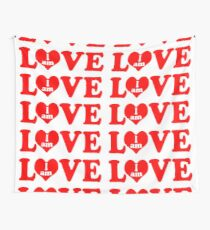 I am love, love I am, I am in love Wall Tapestry