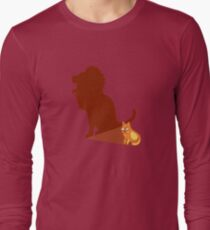 Funny Lion Cat Lannister Tshirt - Cat Gifts for Cat Lovers Long Sleeve T-Shirt