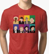 Blazing Saddles characters Tri-blend T-Shirt
