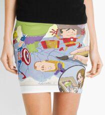 The Office Avengers Mini Skirt
