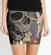 Tinkerbell and One Eyed Willy Mini Skirt