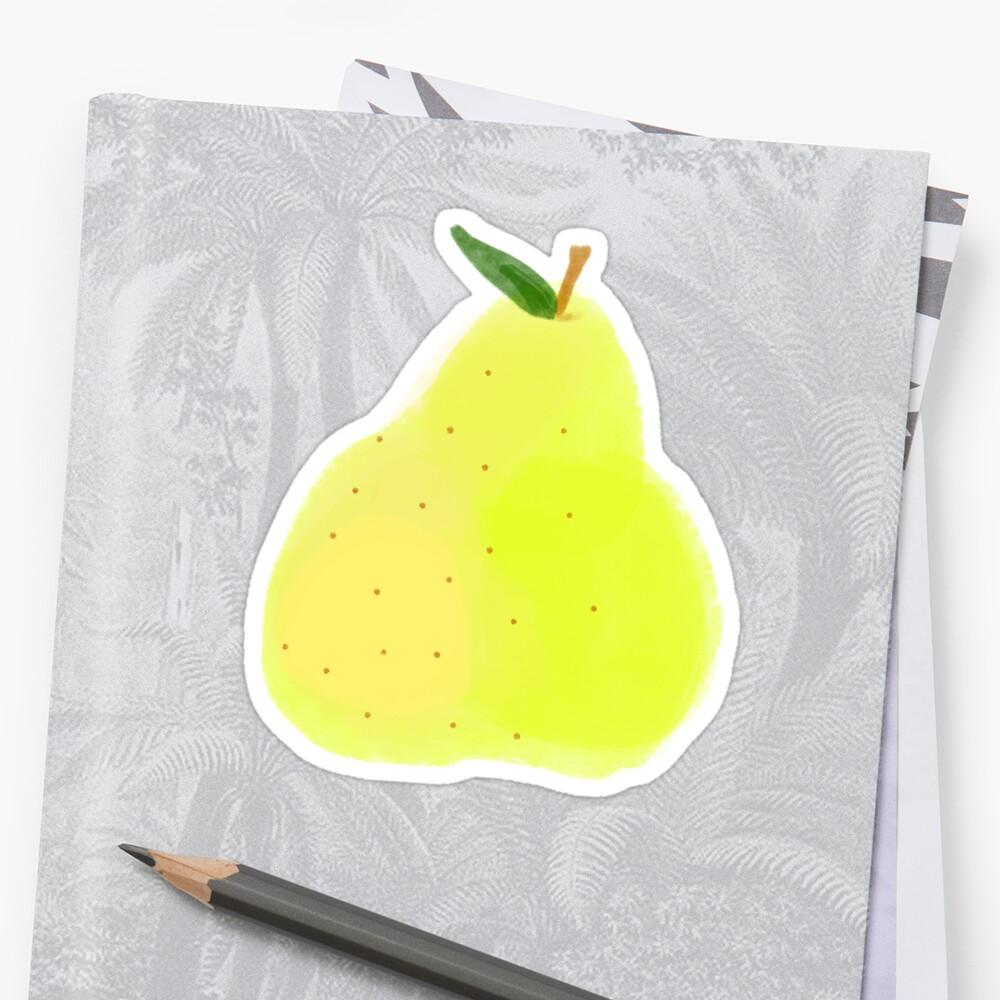 Ripe Pear by elenaschultz