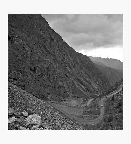 Mountain Pass 2 Photographic Print