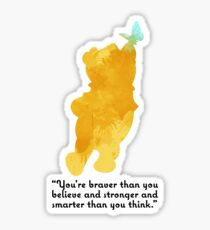 Quote Inspired Silhouette Sticker