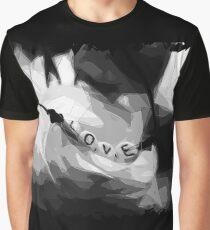 Bellflower Polygon Art Graphic T-Shirt