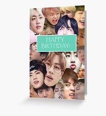 Jin Geburtstagskarte Grußkarte