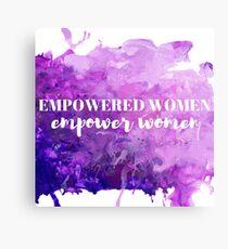 empowered women  Canvas Print