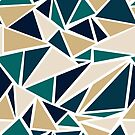 Geometric Triangle Pattern by Pamela Maxwell