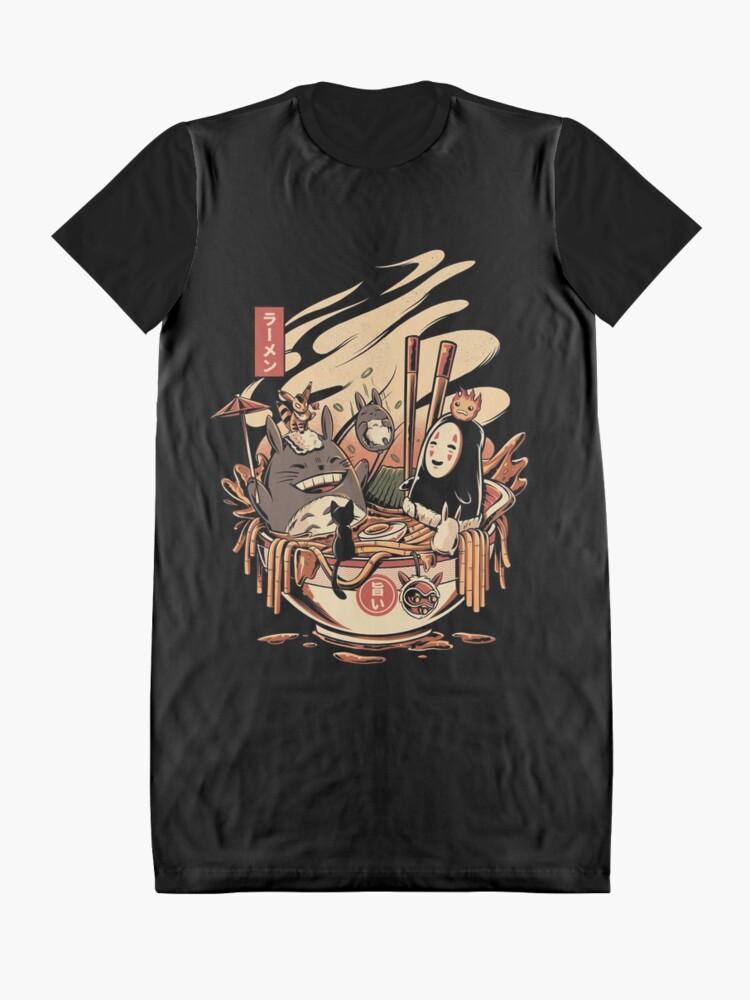 Alternative Ansicht von Ramen Poolparty T-Shirt Kleid