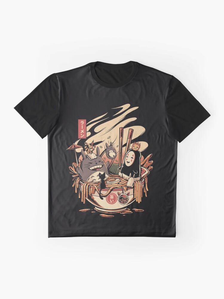 Alternative Ansicht von Ramen Poolparty Grafik T-Shirt