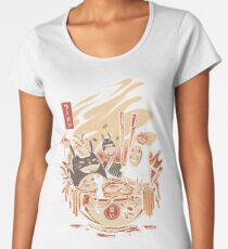 Ramen pool party Premium Scoop T-Shirt