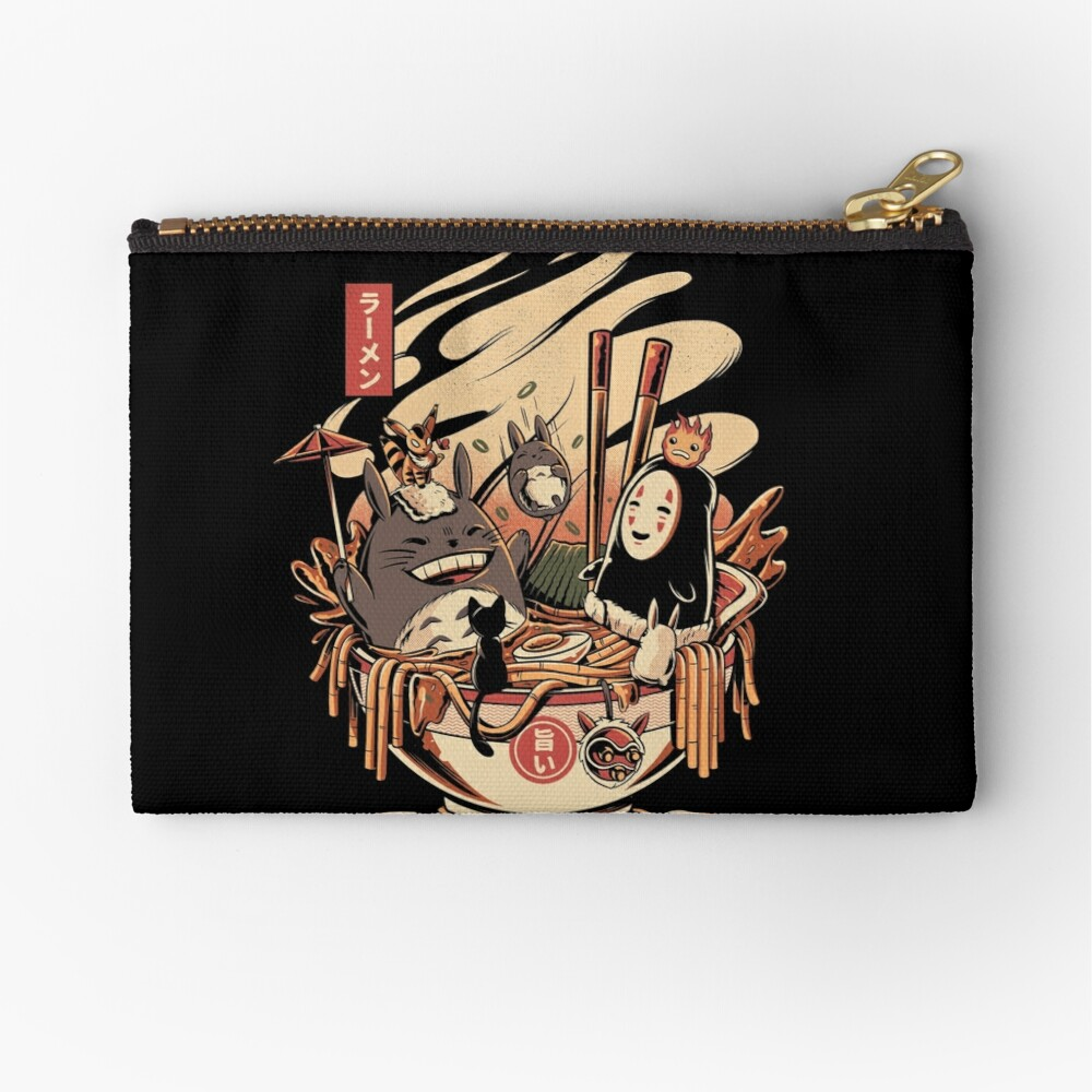 Ramen pool party Zipper Pouch