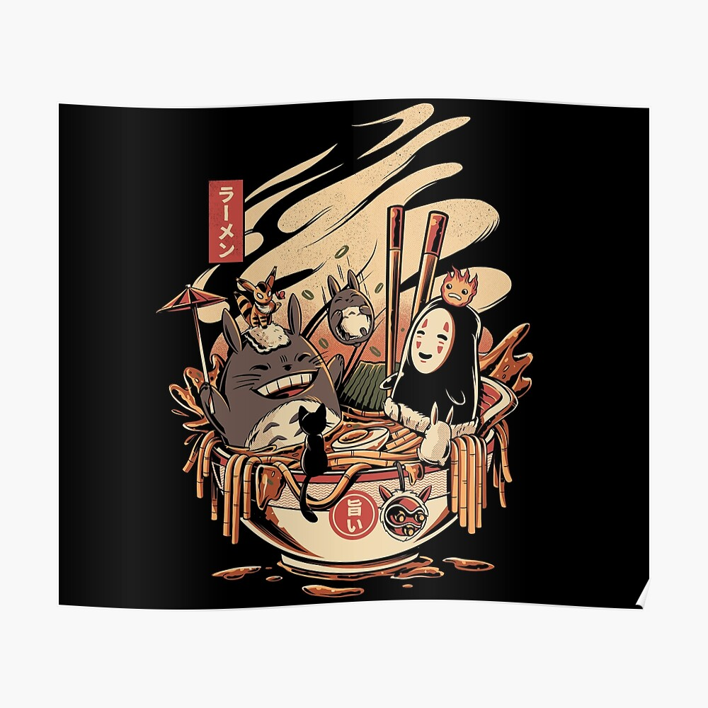 Ramen Poolparty Poster