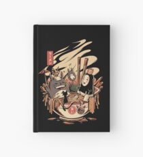 Ramen pool party Hardcover Journal