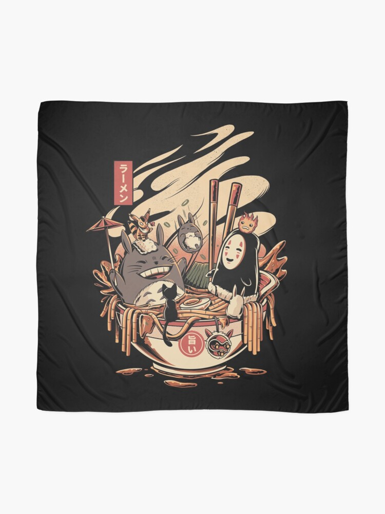 Alternate view of Ramen pool party Scarf