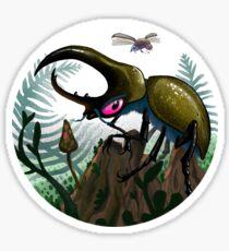 Pegatina Seducción de escarabajos gigantes
