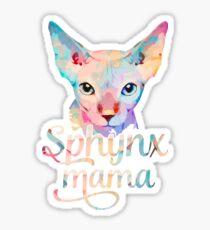 Sphynx Cat Mama - Sphynx Mom Gift Sticker