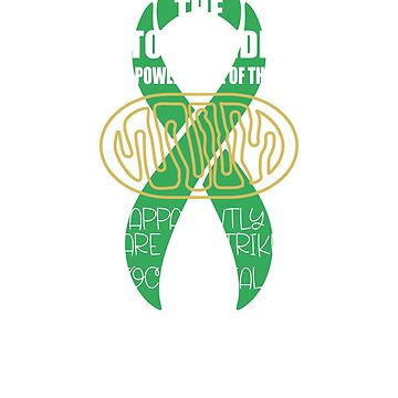 Mitochondrial Disease Awareness. Mine Are On Strike by cosfrog