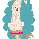 Borzoi Princess Fawn by Happy Dog Swag