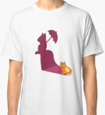 Funny Cat Lady Tshirt - Cat Gifts for Crazy Cat Lovers Classic T-Shirt
