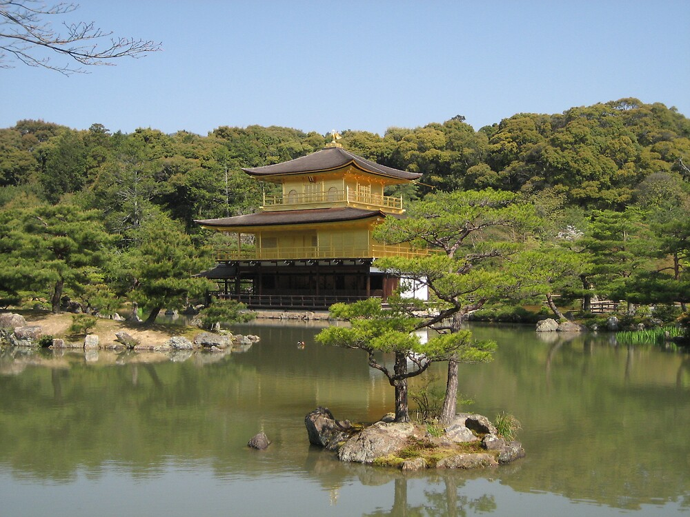 Quot Ryoan Ji Temple Quot By Paul Coia Redbubble