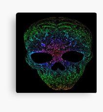 Rainbow skull Canvas Print