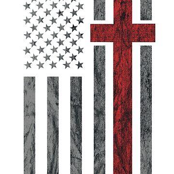 United States of America Flag T-shirt USA Flag Shirts by samlozano