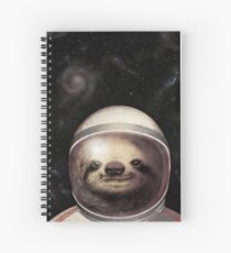 Space Sloth Spiral Notebook