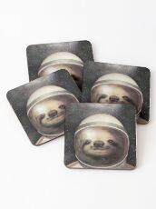 Space Sloth Dessous de verre