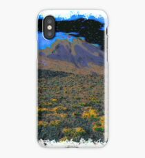 Volcano drawn Art iPhone Case