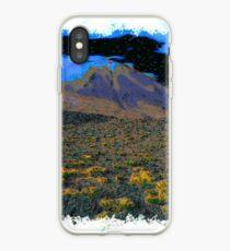 Volcano drawn Art iPhone Case