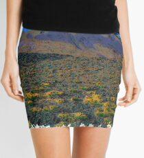 Volcano drawn Art Mini Skirt