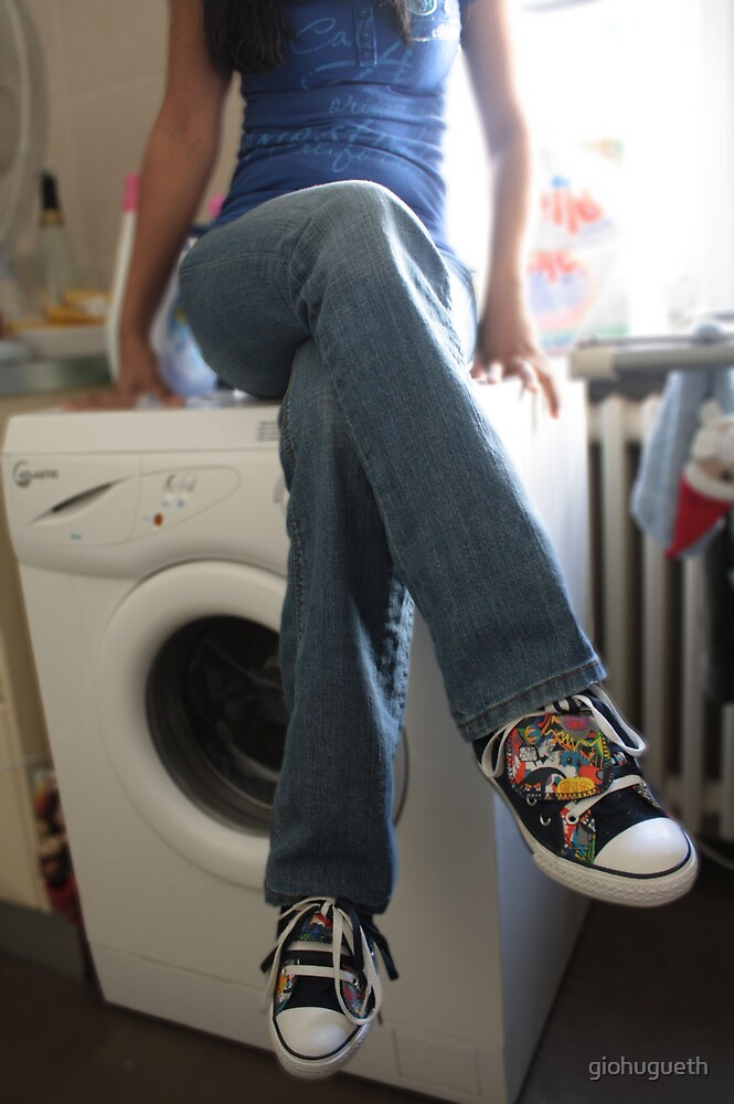 No Shoes in the Washer by giohugueth