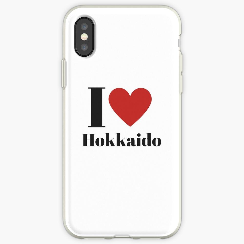 I Love Hokkaido (English) iPhone Case & Cover