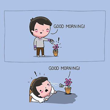 Good morning! by AndresColmenare