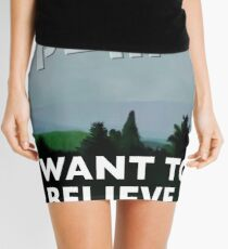 I Want to Believe Mini Skirt